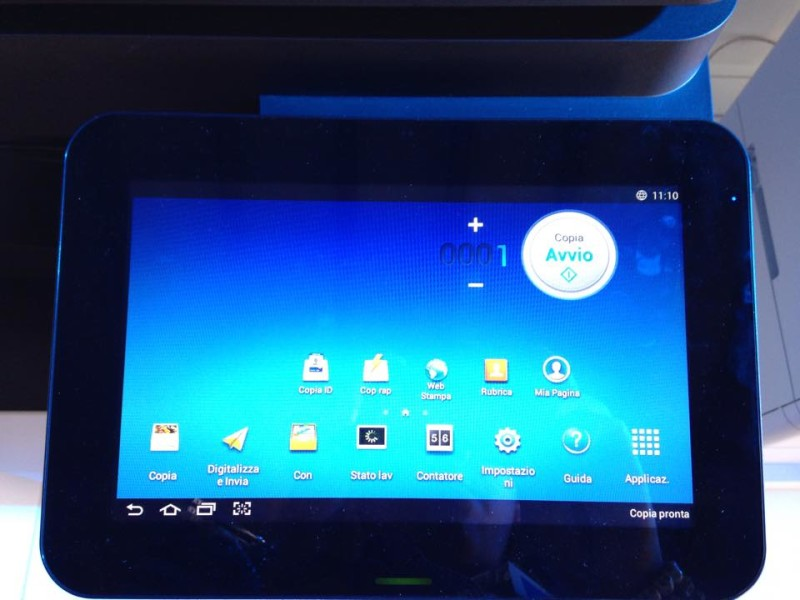 stampanti android Samsung tablet
