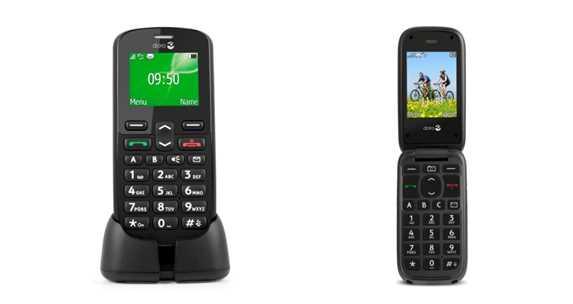 Doro presenta EasyPhone 613 e 508.
