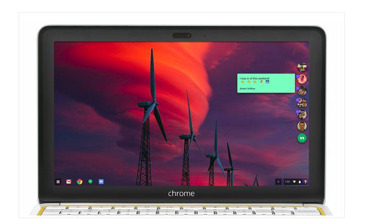 Google chrome hangout