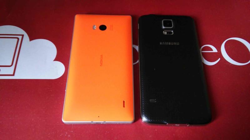 Samsung Galaxy S5 VS Nokia Lumia 930 002