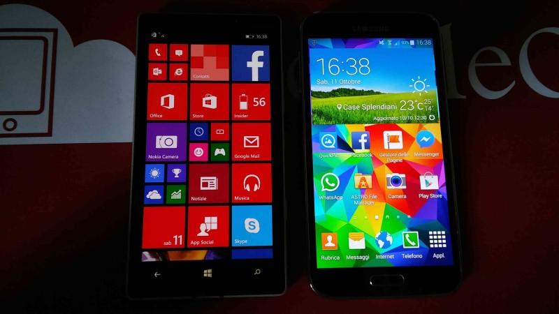 Samsung Galaxy S5 VS Nokia Lumia 930 003