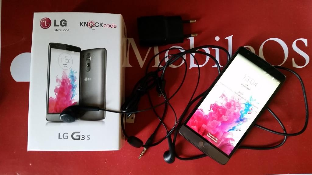 Unboxing LG G3 S