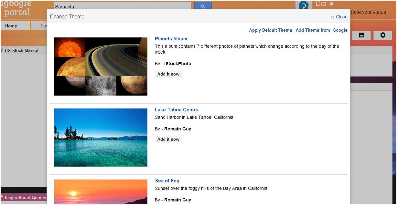 iGoogle 2