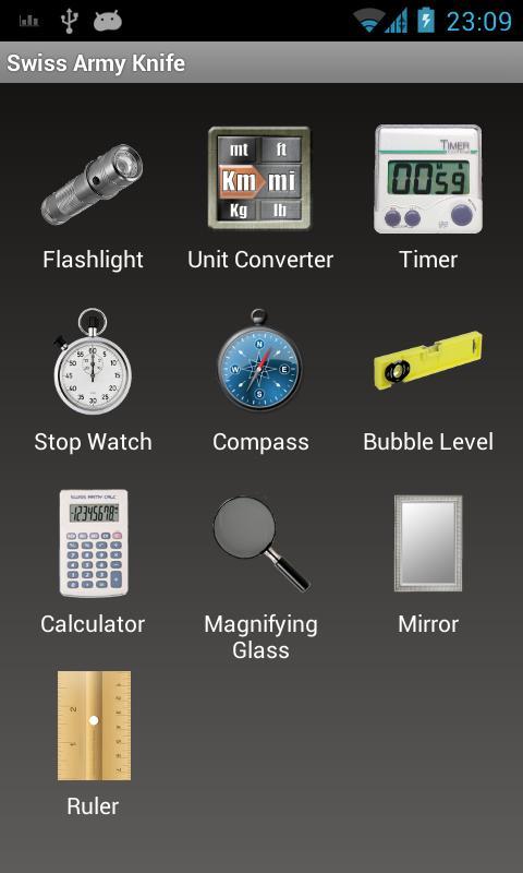 coltellino svizzero l app tuttofare per android