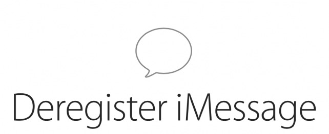 Deregister-iMessage