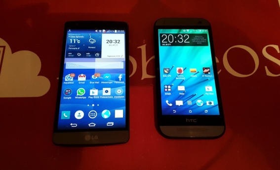 LG G3 S VS HTC One Mini 2