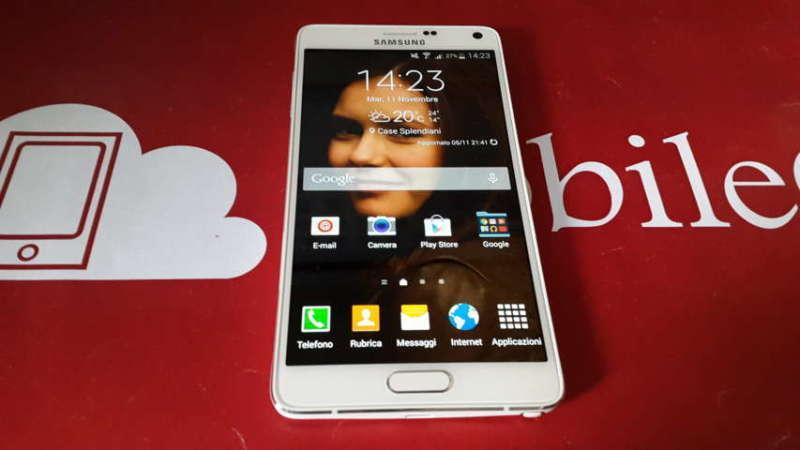 Recensione Samsung Galaxy Note 4 2014-11-11 14.23.25