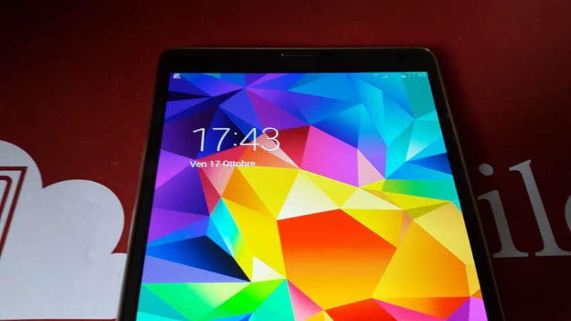 Recensione Samsung Galaxy Tab S 2014-10-17 17.43.28