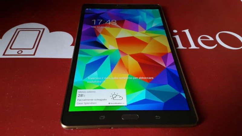 Recensione Samsung Galaxy Tab S 2014-10-17 17.43.33