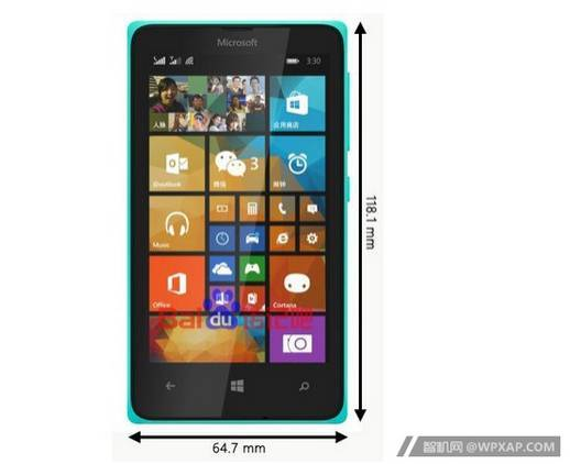 1 Photo-allegedly-of-the-Microsoft-Lumia-435