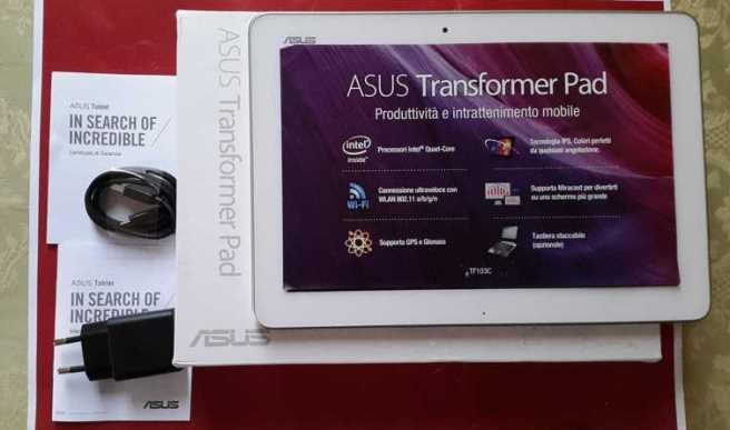 Asus Memo Pad HD 10 - Asus Transformer Pad TF103C