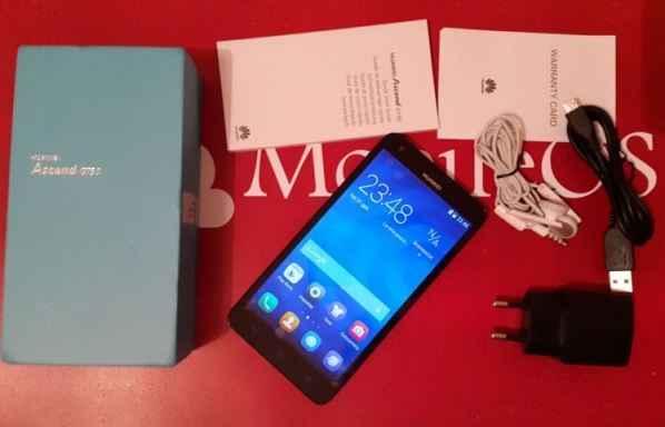 Unboxing Video Huawei Ascend G750
