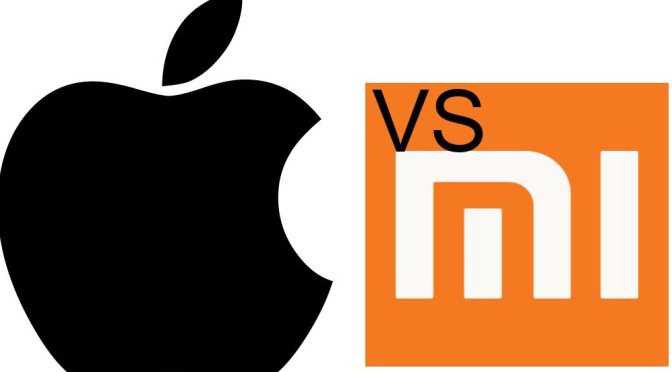 Xiaomi vs Apple