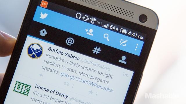 Twitter Instant Timeline