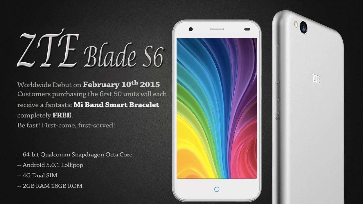 ZTE Blade S6 5.0