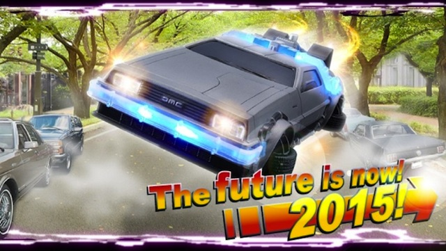 iPhone 6 DeLorean