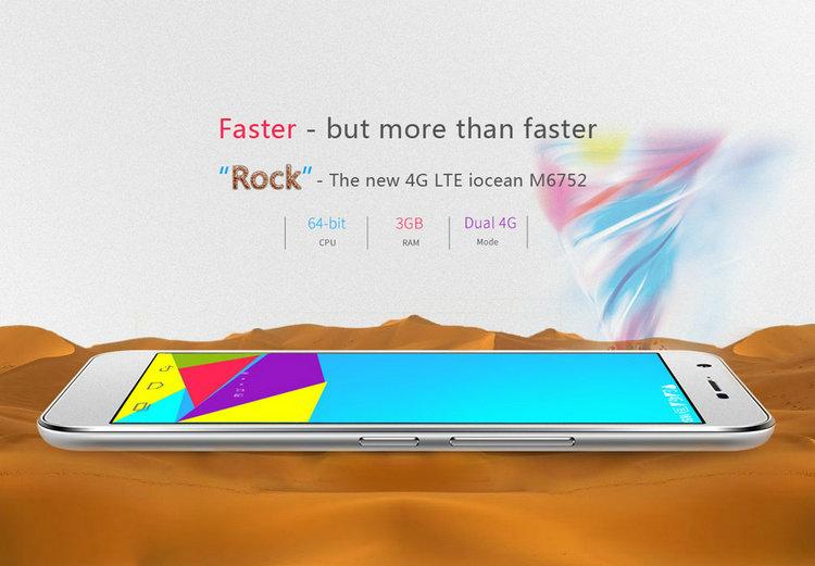 Jiayu S3 VS iOcen m6752