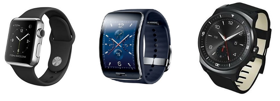 Apple Watch VS samsung gear s VS LG G Watch R smartwatch-2