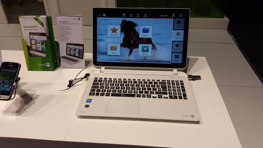 DORO EASY PC MWC 2015 20150304_164535