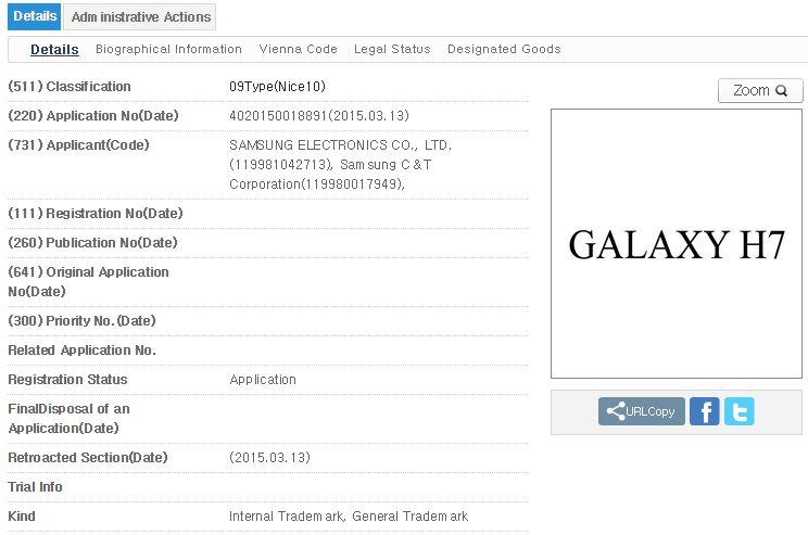 Samsung Galaxy H7 e H1 Ecco i Nuovi Smartphone Samsung