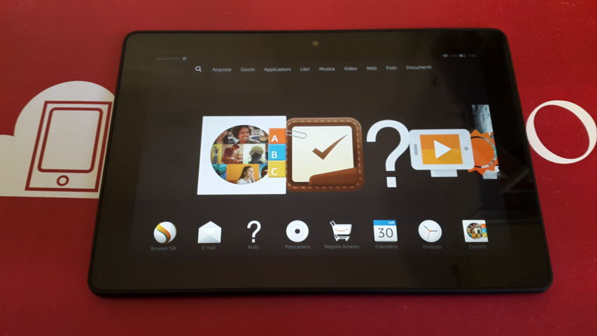 Video Recensione Amazon Fire HDX 8.9 Nuova Versione 2014 - 2015 20150330_175326