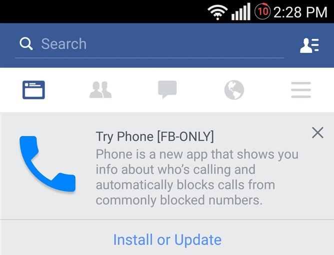 Chiamate Facebook
