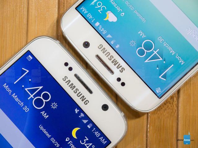 Samsung Galaxy S6 Edge vs Samsung Galaxy S6 Flat