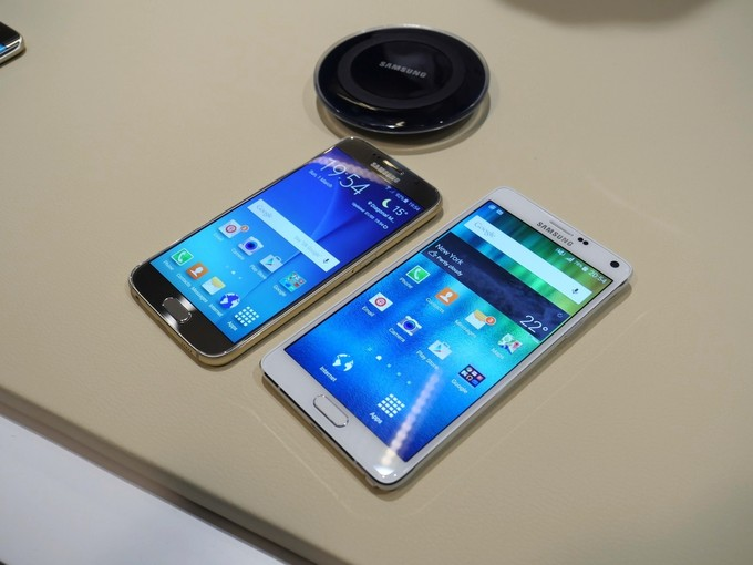 Samsung Galaxy S6 vs Samsung Galaxy Note 4