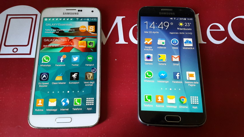 Samsung Galaxy S6 vs Samsung Galaxy S5 2015-04-22 14.49.46