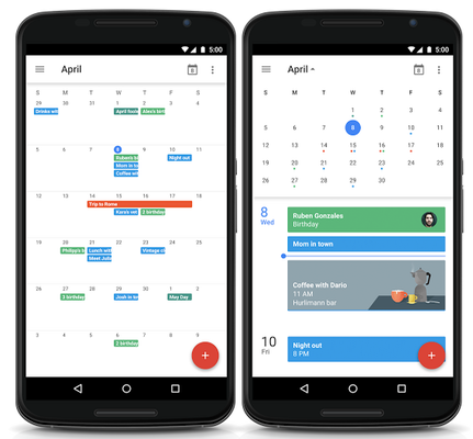 Torna la Month view in Google Calendar!