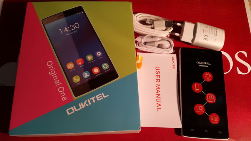 Video Unboxing Oukitel Original One