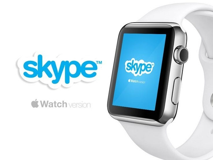 apple watch skype
