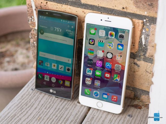 LG G4 vs Apple iPhone 6 Plus