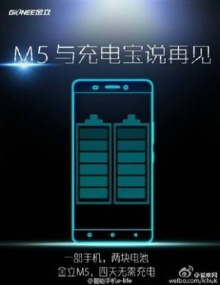 m-a Gionee M5
