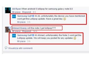 Aggiornamento Samsung Galaxy Note 8.0