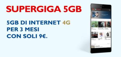 OFFERTA SUPERGIGA 5GB