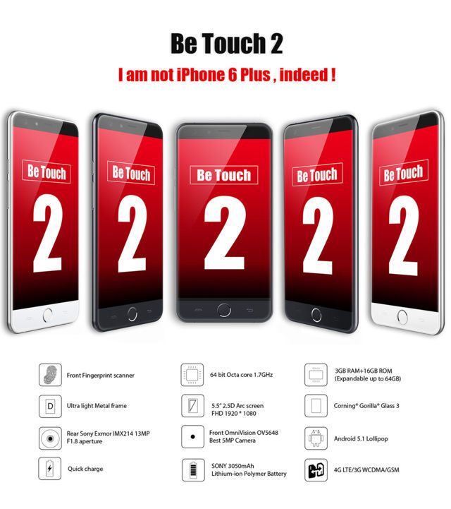 Offerta Ulefone Be Touch 2