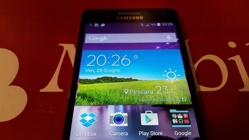 Video Recensione Samsung Galaxy A5 20150626_202640