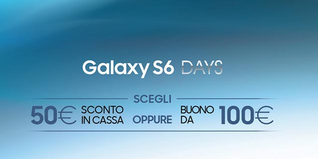 Promozione Samsung Galaxy S6