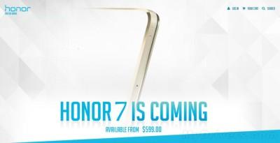 huawei honor 7 prezzo di lancio