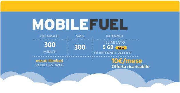 mobile fuel fastweb