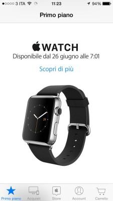 uscita e prezzi apple watch IMG_1241