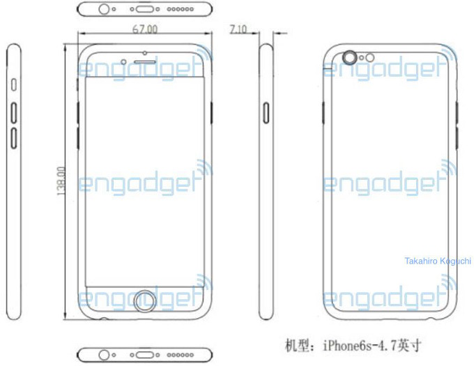 Design iPhone 6S