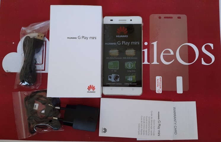 Video Unboxing Huawei G Play Mini