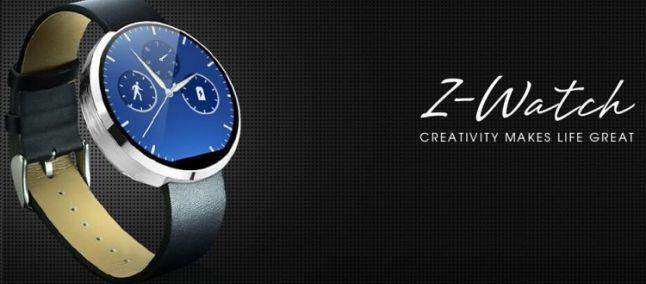 Zopo Z-Watch Ecco lo Smartwatch Cinese Circolare per Android e iOS