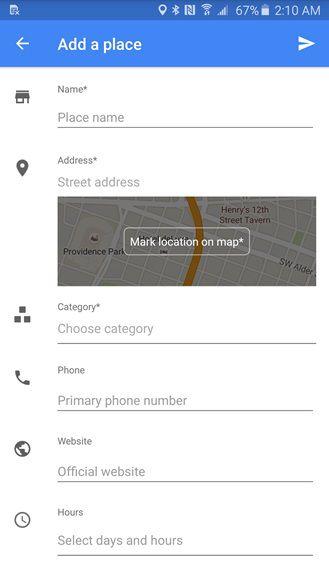 Google Maps 9.13 maps
