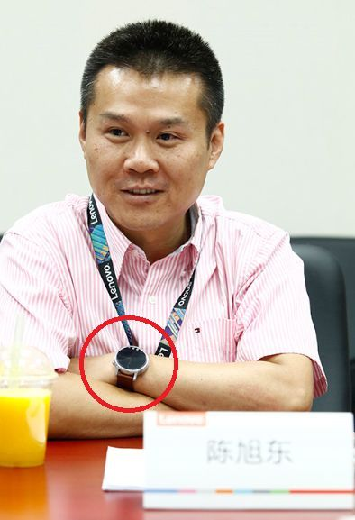 Lenovo-SVP-Chen-Xudong-wearing-the-Moto-360-2