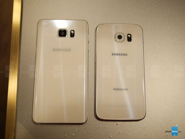 Samsung Galaxy Note 5 VS Galaxy S6 g