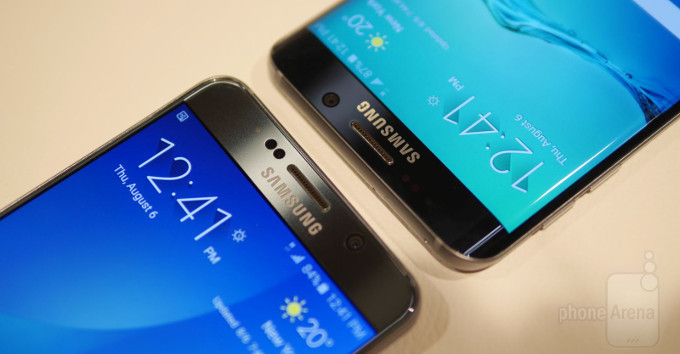 Samsung Galaxy Note 5 VS Samsung Galaxy Edge Plus