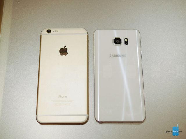 Samsung Galaxy Note 5 VS iPhone 6 Plus (2)